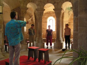 Singing in roman churches