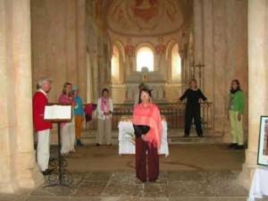 Singen in Romanische Kirchen